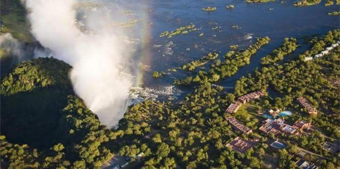 Interesting destinations to visit in Zimbabwe... Victoria Falls is a waterfall in southern Africa on the Zambezi River at the border between Zambia and Zimbabwe. It has been described by  as one of the Seven Natural Wonders of the world....#wildlife #southafrica #photosafari #tourism #extremefrontiers #bush #adventure #holiday #vacation #safari #tourist #travel