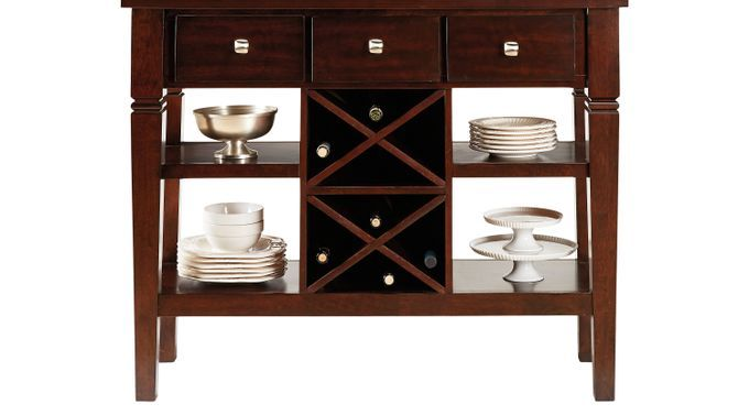 Servers Rooms To Go Riverdale Cherry Sideboard 42893506 Pub Set Dining Room Sets Dining Room Remodel