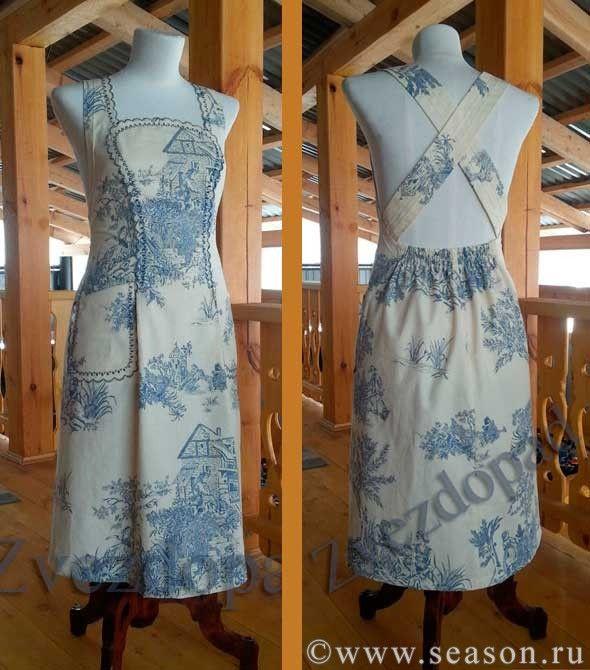 Платье фартук идеи выкройки