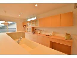「北欧 キッチン 背面収納」の画像検索結果