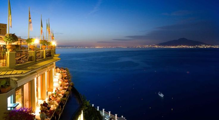 Hotel Bristol Sorrento Hotel Bristol is set in a panoramic position just above Sorrento. It boasts a panoramic swimming pool, gym, and a spectacular rooftop restaurant. Admire beautiful views across the bay.  The guest rooms come with satellite TV and air conditioning.