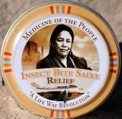 3 Tins of Navajo Medicine of the People Insect Bite Salve for Swelling Pain  Itch 075 oz each Outstanding Product  Christmas Stocking Stuffer *** Be sure to check out this awesome product. Note: It's an affiliate link to Amazon.