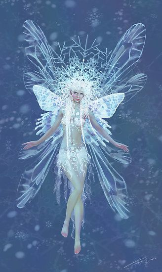 Snowflake Fairy Fairies Elves Fantasy Fairy Pictures