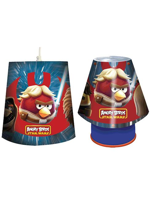 Angry Birds Star Wars Kool Lamp and Shade Set 100 official merchandise Great value for money