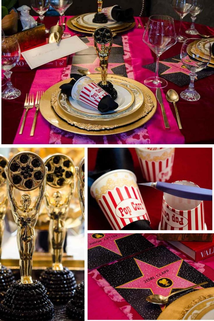 Birthday gift bags 5 cooking for oscar - How To Throw The Best Oscars Party Thedailybasics