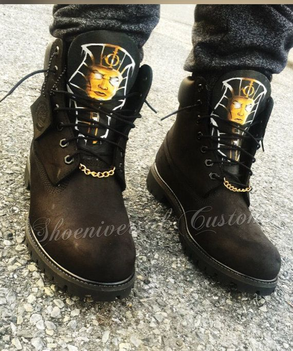 Alpha Phi Alpha Custom Timberland Boots by ShoeniversalCustoms