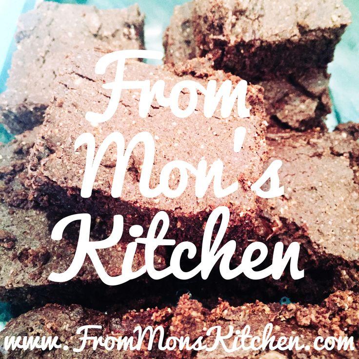 From Mon's Kitchen.  #glutenfree #brownies #frommonskitchen