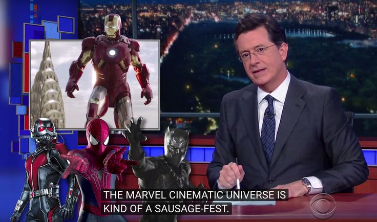 Stephen Colbert to Marvel: Get your act together and make some female villains