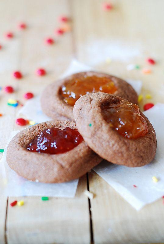 Easy thumbprint cookies recipe - easy Christmas cookie recipe