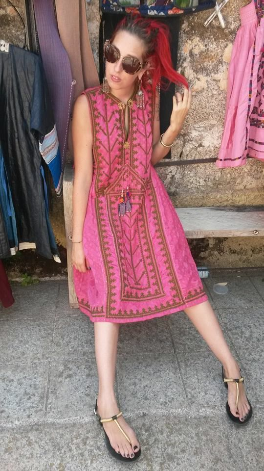 Elizabeth the First tribal Couture baluchi dress