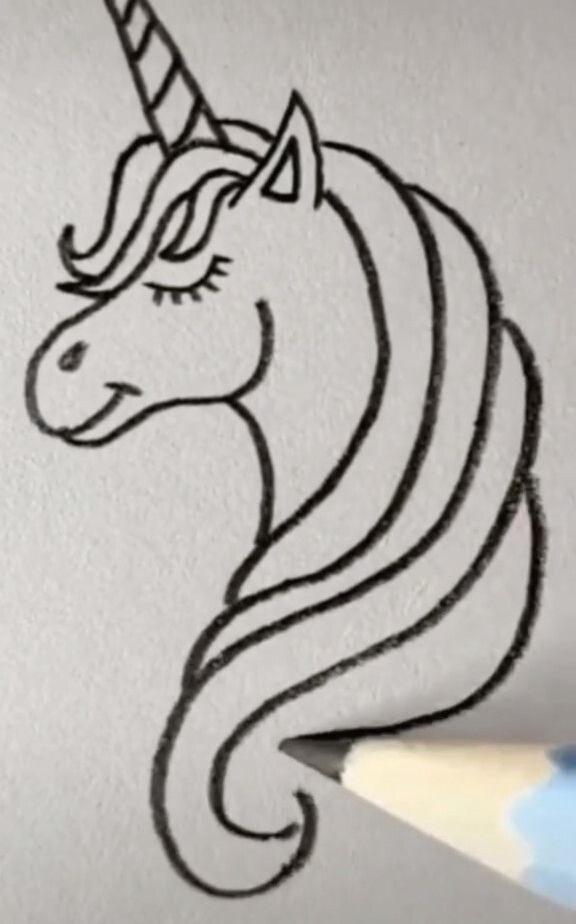 Pferd Einfache Zeichnung Katze Die Zeichnung Einfach Pferd In 2020 Einfache Skizzen Zum Zeichnen Einfach Zeichnen Malen Und Zeichnen