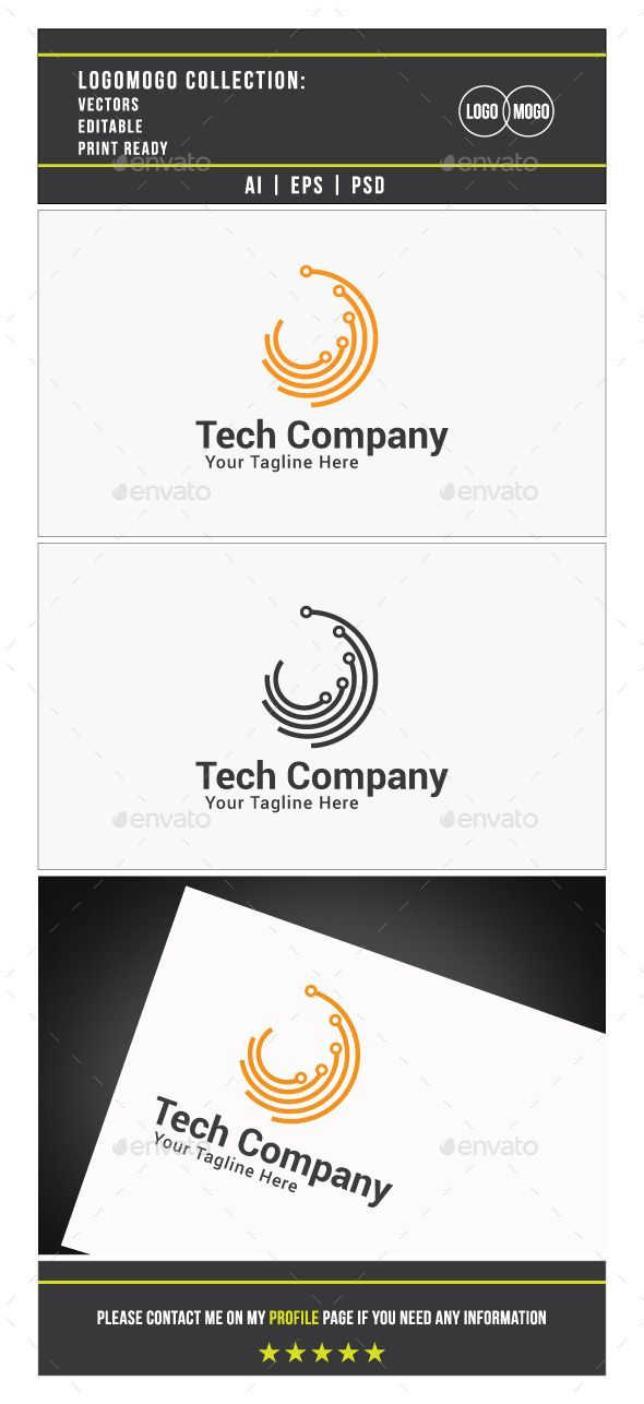 Tech Company  - Logo Design Template Vector #logotype Download it here: http://graphicriver.net/item/tech-company-logo-template/9899978?s_rank=423?ref=nexion