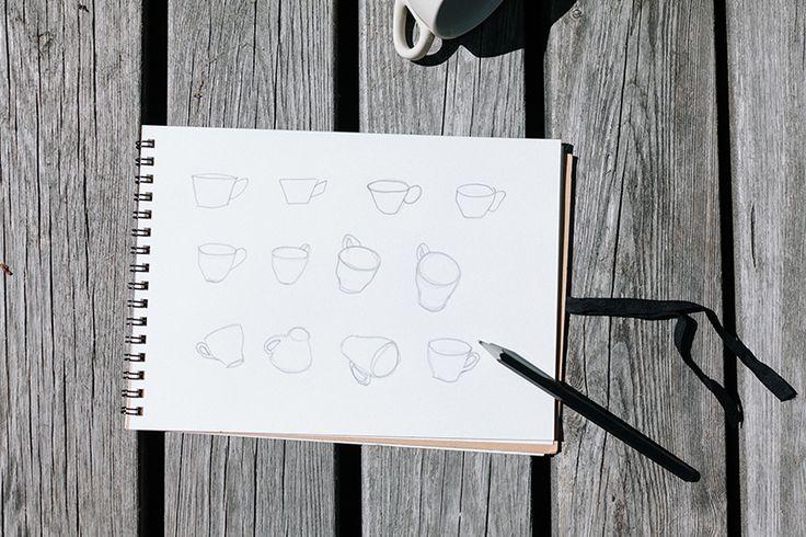 how to draw, tips for the beginner given by an illustrator. Lär dig teckna som vuxen, tips på hur du lär dig rita BLOMSTRANDE | Svar på läsarmejl: tips för att börja rita | http://blomstrande.com