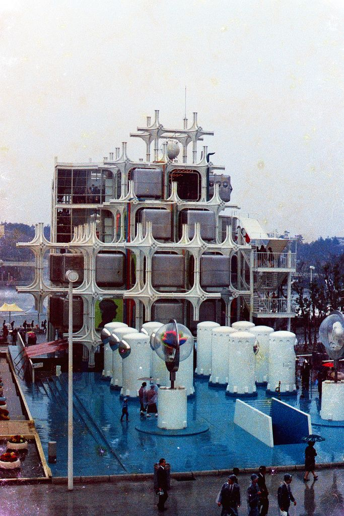 Takara Group Pavilion  April 1970, Osaka Expo'70