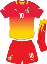 Ghana | away jersey | 2012-2013