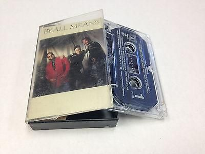 By All Means - S/T self-titled (Cassette 1988) Island Records