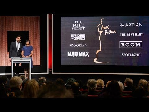 Nominees – Oscars 2016 Live | Watch 88th Academy Awards Oscars 2016 Live HD Online
