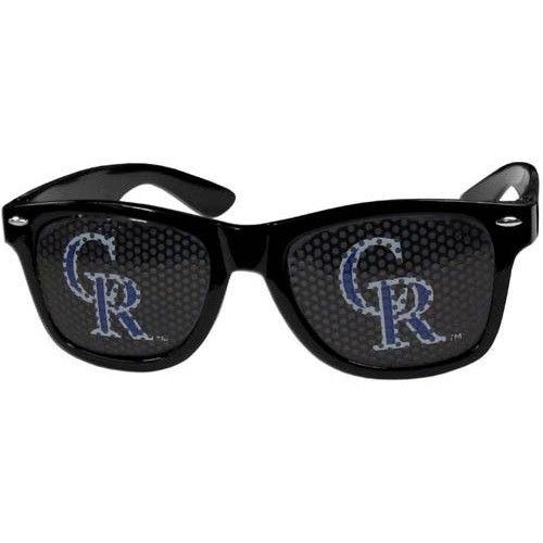 Colorado Rockies Game Day Retro Sunglasses