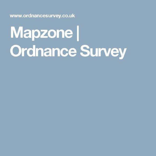 Ordnance survey homework help