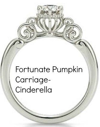 CAGED CANARY - Cinderella Engagement Ring