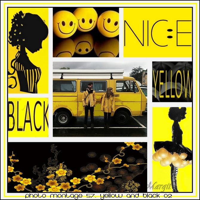 Photo montage 57. Yellow and Black 02