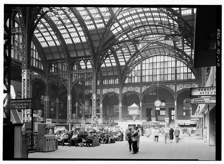 New York - History - Geschichte: Die Bahnhofshalle
