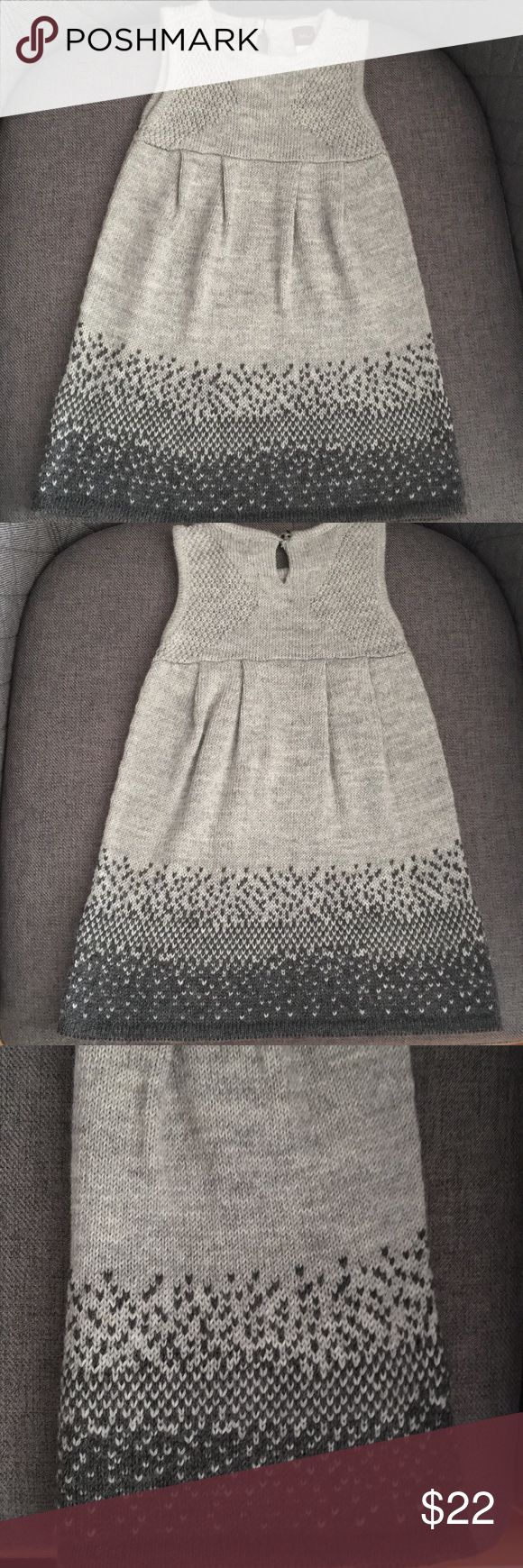 Tea Collection Sleeveless Dress Gray sleeveless sweater dress Tea Collection Dresses Casual