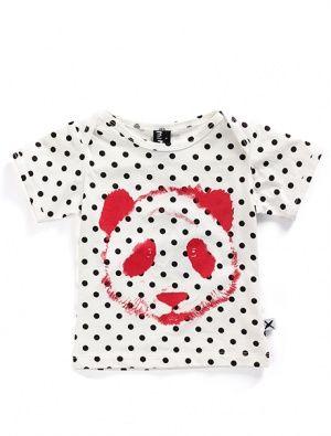 Buy Minti Baby Painted Panda Tee Polka