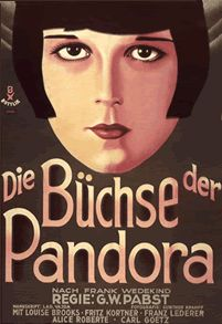 Pandora's Box (G.W. Pabst, 1929), the film that made Louise Brooks a star, as her free and uninhibited sexuality causes the downfall of those who love her, as well as herself. Find this at 791.43743 PAN
