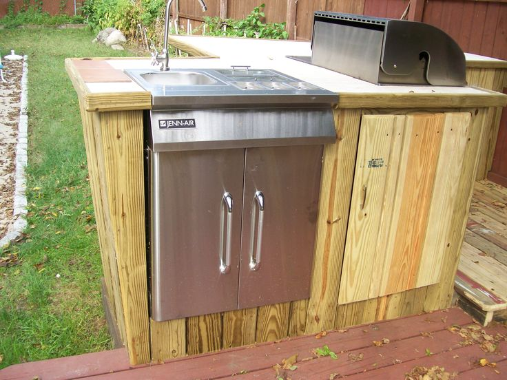 17 best images about my dream cook shed on pinterest for Outdoor kitchen shed