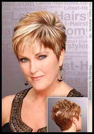 Résultats de recherche d'images pour «coupe de cheveux court femme 70 ans»