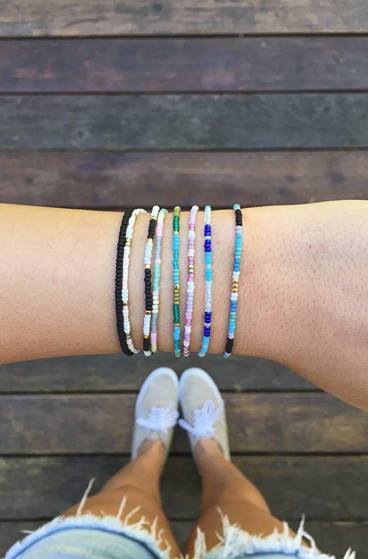 Seed Beads | Pura Vida Bracelets Use the code BRIDGETKARCHER20 to get 20% off