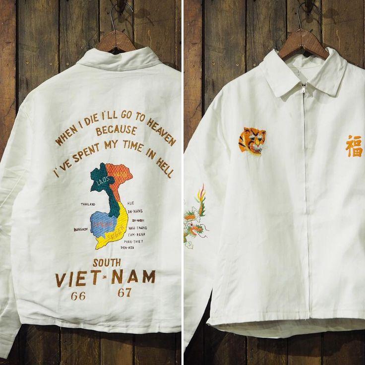 -New Arrival- 『1960'S VIETNAM SOUVENIR JKT DEADSTOCK』  60年代ベトナムスーベニアJKT 珍しい白ボディー、水の通っていないデッドストックコンディション。 ※お電話での商品問合せはご遠慮ください。通販をご希望の際はコメント欄/メールにてお問合せくださいませ。 ※We are sorry. No international orders now. #ACORN #VINTAGE #ヴィンテージ #ビンテージ #VINTAGE買取 #ヴィンテージ買取 #ビンテージ買取 #高価買取 #古着買取 #業界No1査定 #60s #60年代 #vietnamjacket #ベトジャン