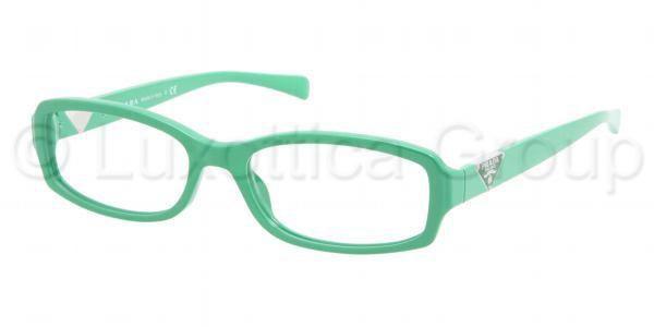Prada Eyeglasses Frames Direct : Prada PR10NV Eyeglasses on Frames Direct in Green (comes ...