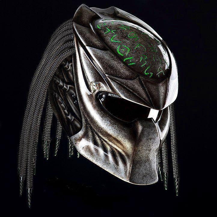 Predator helmet slow but sure (dot & ece certified)