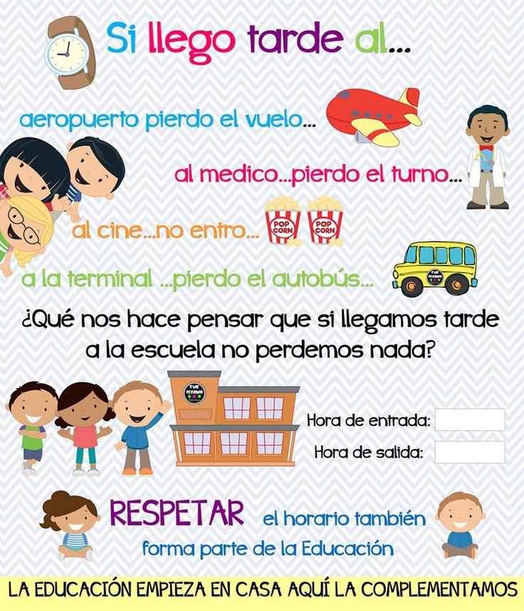 Cartel o diseño para promover la puntualidad de los alumnos dirigido a los padres de familia - http://materialeducativo.org/cartel-o-diseno-para-promover-la-puntualidad-de-los-alumnos-dirigido-a-los-padres-de-familia/
