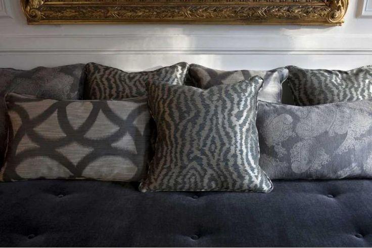 Antoine d'Albiousse - Details #interior #design #fabric