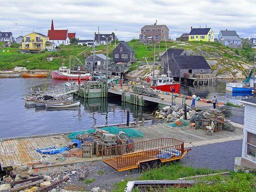 nova scotia if i lived there,id live in a place like this area!! A simple life!!