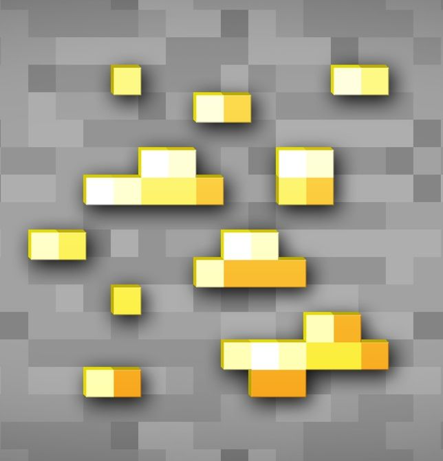 Minecraft butter ore wallpaper