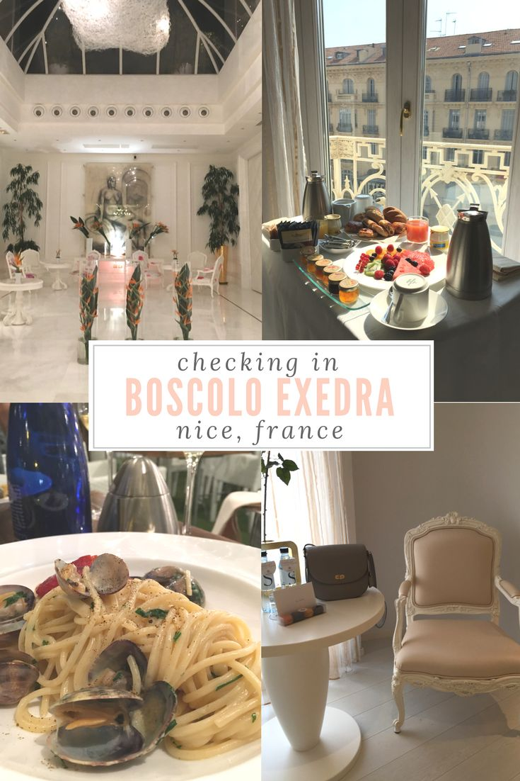 Located just a few blocks from the beach, Boscolo Exedra in Nice, France is the perfect luxury stay on the French Riviera. #luxuryhotels #hotelreviews #nice #francehotels