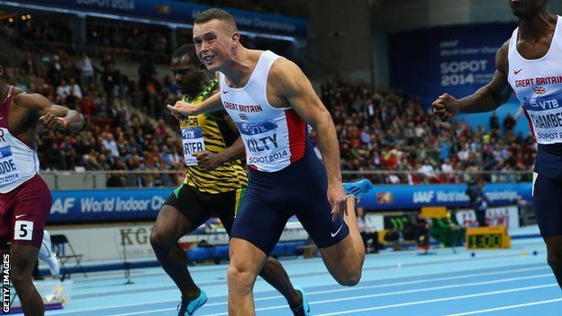 Glasgow 2014: England's Richard Kilty aims to 'shock'