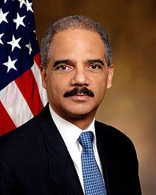 """Eric 'Shoot 'em Up"""" Holder - Illicit gunrunner, perjurer, complicit in murder of his own employees, apparently skipped ALL constituional law classes in law school, has never REALLY read the Constitution, the PERFECT complement to the O'Bummer Administration Gang. Can WE, as a nation, descend any lower?  ...I seriously doubt it. The top US """"lawman"""" is a perfect example of Amalric's reference: """"Kill them all...God wiill know his own""""."""