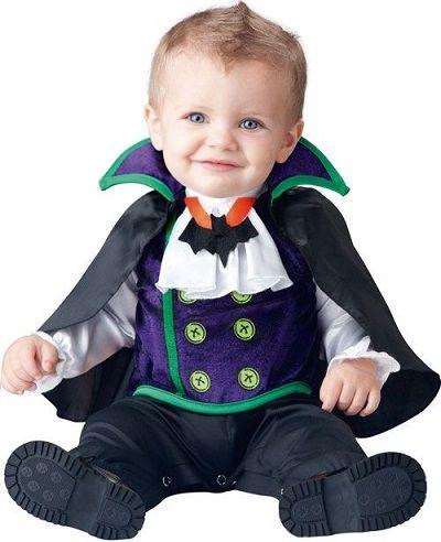 disfraz de vampiro para bebé