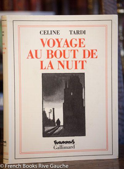 "Céline, Voyage au bout de la nuit, Jacques Tardi 셀린(Céline)과 자크 타르디(Jacques Tardi)의 만남. 타르디가 셀린의 소설  ""밤의 끝으로의 여행"" 삽화를 그린것은 분명하나 이 책속에서 자크 타르디는 가히 셀린과 어깨를 나란히 하고 이보다  더 시크할 수 없게 부랑을 예찬했다 말하고 싶습니다."