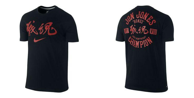 Nike Jon Jones UFC 172 Walkout Shirt - http://www.fighterstyle.com/nike-jon-jones-ufc-172-walkout-shirt/