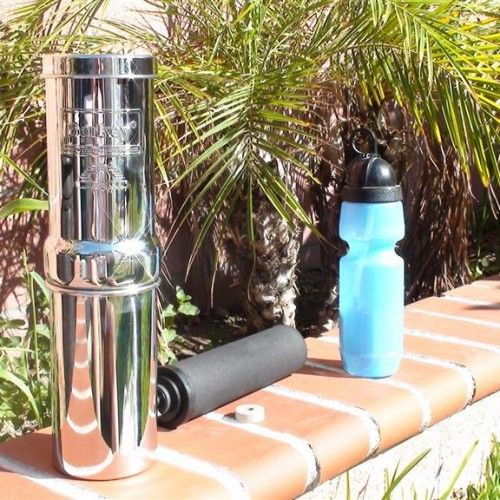 Go Berkey kit offers you a superior at home and mobile drinking water filtration system  for a great price!