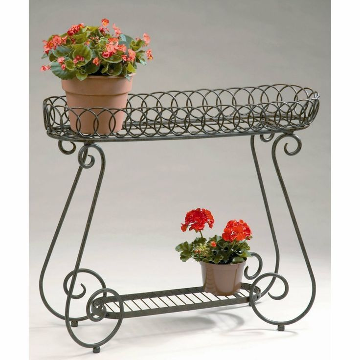 Planter With Rings