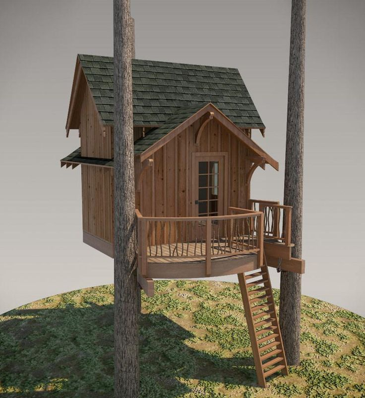 52 best to make images on pinterest tree houses for Classic hard house