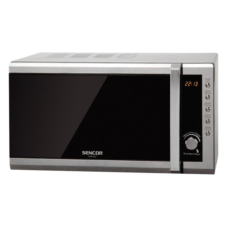 Microwave Oven SMW 6021 - Pre-programmed cooking (8 menus) - Multi-phase cooking - 5 microwave power levels