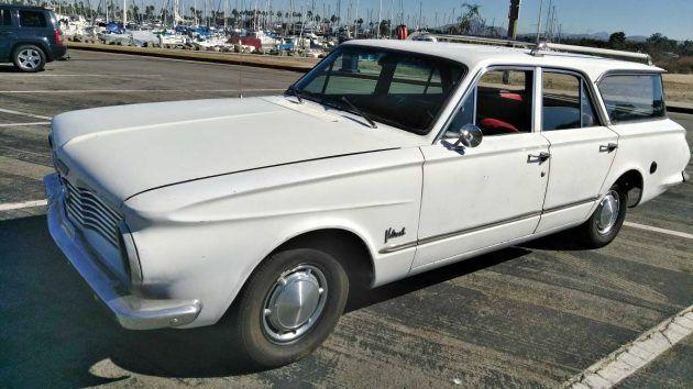 Plymouth Rock: 1964 Valiant Wagon #Wagons #American, #Plymouth, #Survivor, #Wagon - https://barnfinds.com/plymouth-rock-1964-valiant-wagon/